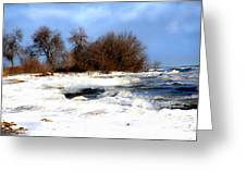 Winter Beauty Greeting Card