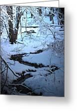 Winter Brook Greeting Card