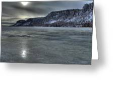 Winter Calm Greeting Card