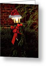 Winter - Christmas - It's Going To Be A Cold Night Greeting Card by Mike Savad