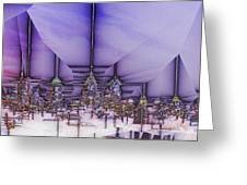 Winter City Greeting Card