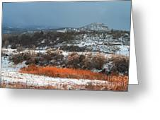 Winter Colors 3 Greeting Card