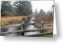 Cranberry Slough  Greeting Card