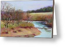 Winter Creek                  Copyrighted Greeting Card