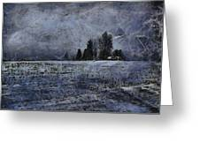 Winter Day Greeting Card