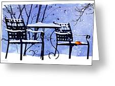 Winter Days Greeting Card