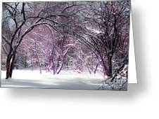Winter Faeries Greeting Card