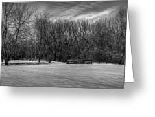 Winter Ford Truck 2 Greeting Card
