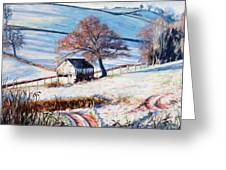 Winter Frost Greeting Card by Tilly Willis