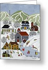 Winter Fun Greeting Card