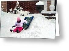 Winter Fun Greeting Card