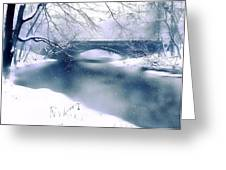 Winter Haiku Greeting Card