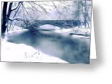 Winter Haiku Greeting Card