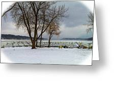 Winter Has Arrived Greeting Card
