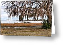 Winter High Tide Greeting Card