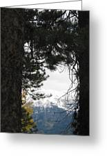 Winter In Grand Lake Co 1 Greeting Card