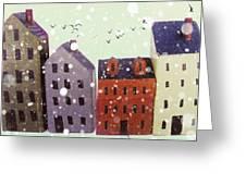 Winter In Nantucket Greeting Card