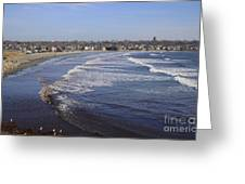 Winter In Newport Greeting Card