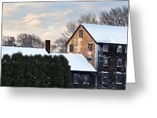 Winter In Prescott Park Greeting Card