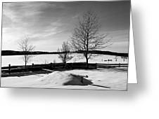Winter In Roztocze Greeting Card