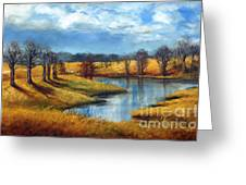 Winter In Tennessee Greeting Card
