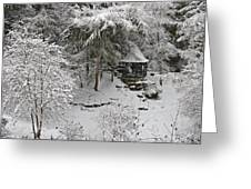 Winter In The Glen Greeting Card