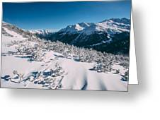 Winter In Tirol Greeting Card