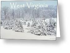 Winter In West Virginia Greeting Card