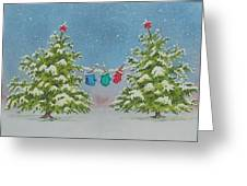 Winter Is Fun Greeting Card
