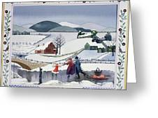 Winter Greeting Card