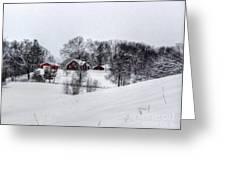 Winter Landscape 5 Greeting Card