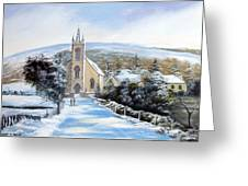Winter  Loughguile  Ireland Greeting Card