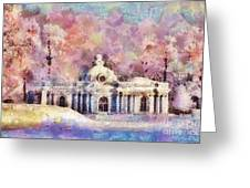Winter Manor Greeting Card