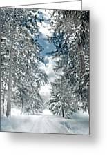 Winter Me Greeting Card