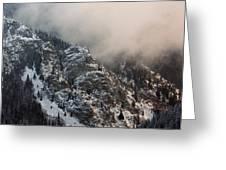 Winter Mist Greeting Card