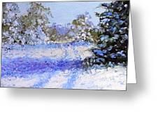 Winter Morn Greeting Card