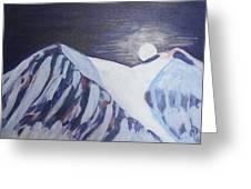 Winter Night In Skye Greeting Card