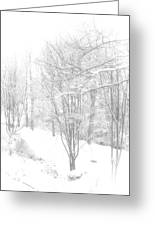Winter Of '14 Greeting Card