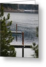 Winter On Lake Coeur D' Alene Greeting Card