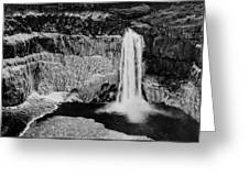 Winter Palouse Falls 3 Greeting Card