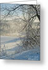 Winter Pastorale IIi Greeting Card