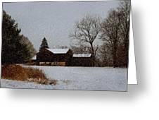 Winter Peace Greeting Card