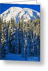 Winter Peak Greeting Card