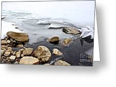 Winter Quabbin Greeting Card