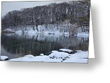 Winter Reflections Greeting Card