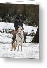 Winter Riding Greeting Card