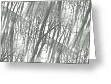 Winter Road Dream Greeting Card