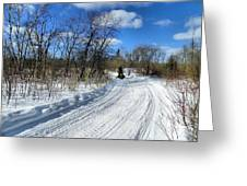 Winter Scape 2 Greeting Card