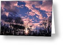 Winter Silhouettes Greeting Card