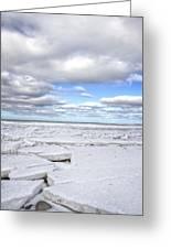 Winter Skaket Beach Greeting Card